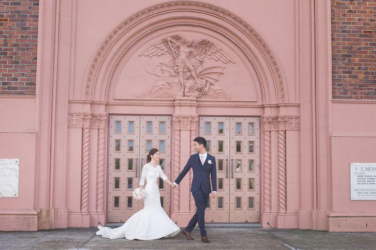 Astra Bride Melissa | Bonny bridal gown | St Michaels Parish | Kenrick Rhys Photography |