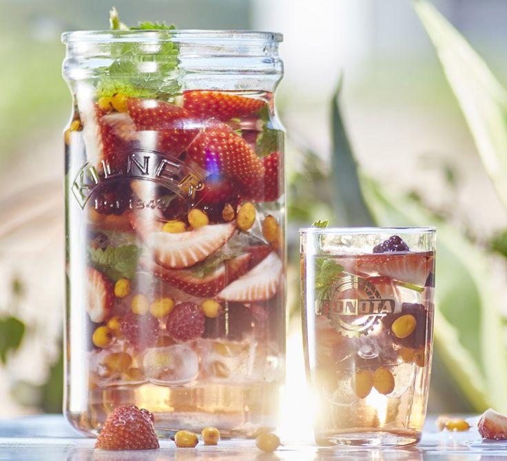tchibo: ledový ovocný čaj
