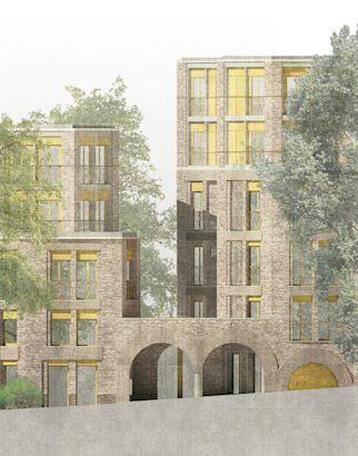 PegasusLife retirement housing (?) - Fitzjohn Avenue - Hampstead - UK - Sergison Bates