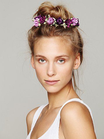 Free People Bun Floral Crowns