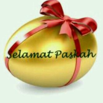 Selamat Paskah!  Happy Easter... Happy Passover