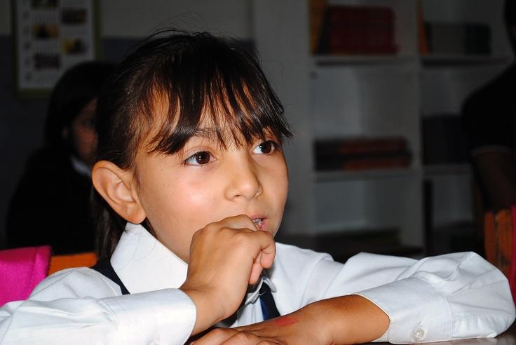 Una de las muchas alumnas del Centro de Protección Pudahuel