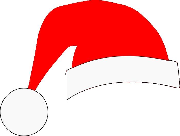 santa hat svg crafts silhouette svg s pinterest santa hat
