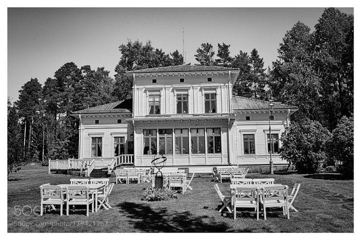 Manor Olofsfors Bruk by Torfinn