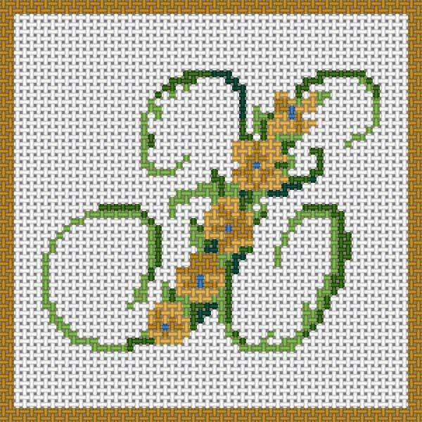 Floral Alphabet - X
