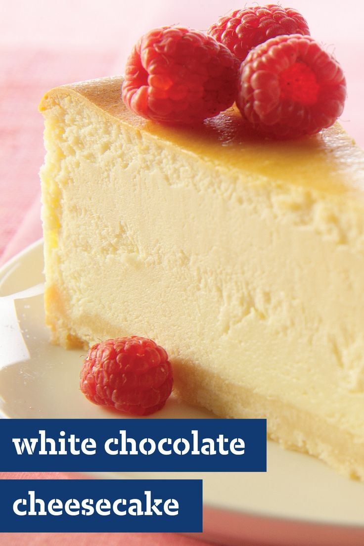 Philadelphia White Chocolate Cheesecake