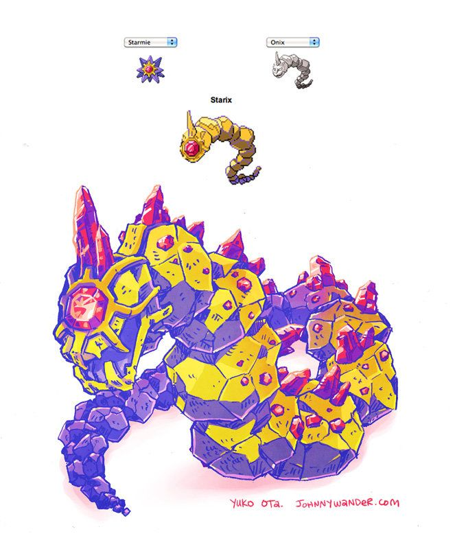 Starix Pokemon Fusion