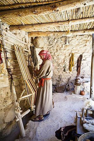 Villa de Nazaret, la recreación de Nazaret, en el tiempo de Jesús, Nazaret, Baja región de Galilea, Israel, Oriente Medio