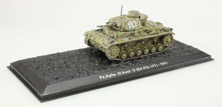 (V192) Pz.Kpfw.III Ausf.Sd.Kfz.141 1941 1/72 Chasse légendaire et char de combat