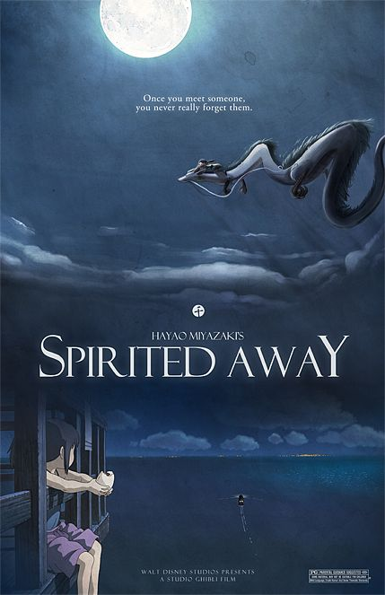 The movie spirited away will be shown at the Historic Belton Depot