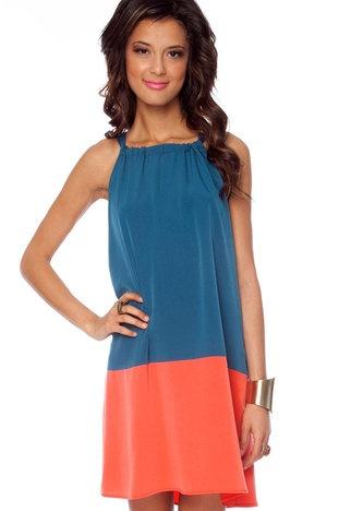 color block halter: Colors Combos, Cheap Dresses, Dreams Closet, Blocks Dresses, Blocks Halter, Big Girls, Colors Blocks, Pillowca Dresses, Halter Blocks
