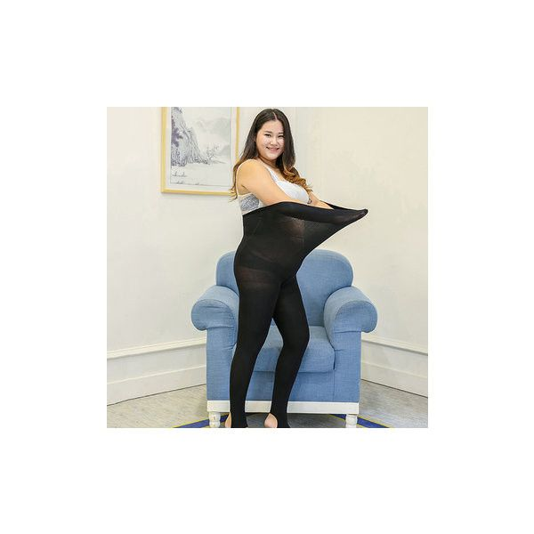 Thick Plus Size Stretchy Leggings Pantyhose Socks ($11) ❤ liked on Polyvore featuring intimates, hosiery, socks, black, pantyhose hosiery, thick pantyhose, velvet socks, print socks and breathable socks