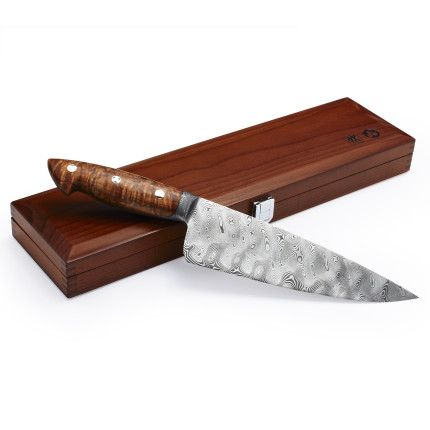Bob Kramer Limited-Edition Damascus Chef's Knife with Presentation Box