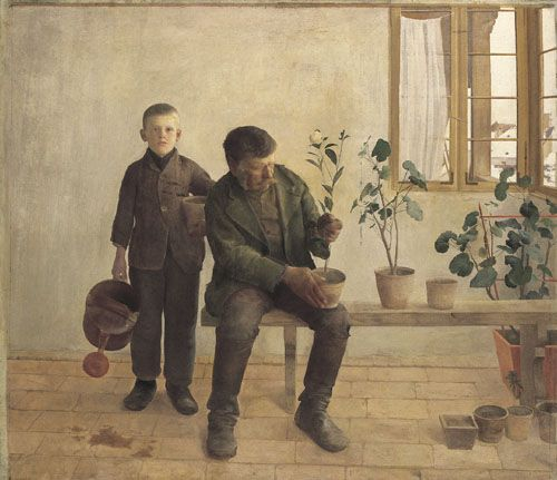 Ferenczy, Károly Gardeners - Hungarian National Gallery, Budapest. 1891