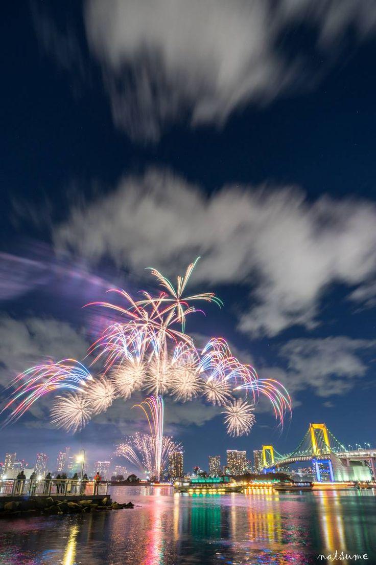 お台場花火 fireworks in Odaiba, Tokyo
