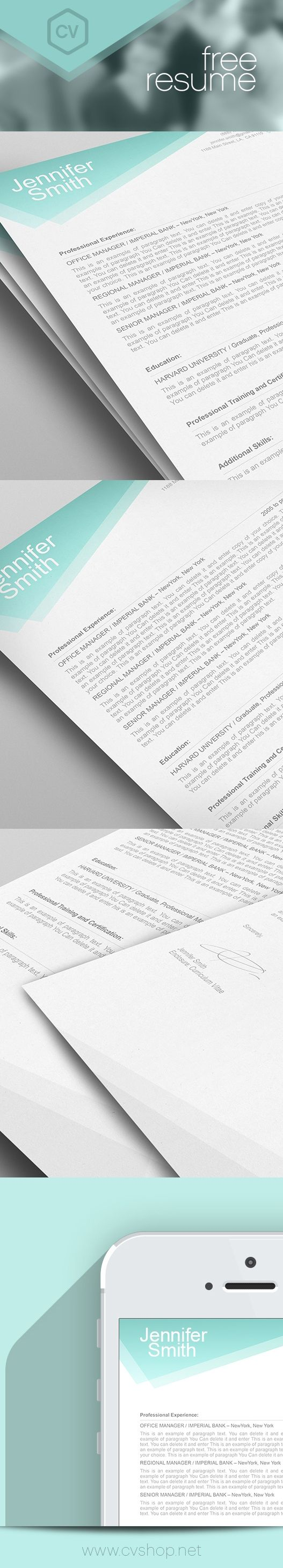 121 Best Resume Templates By Resumeway Images On Pinterest
