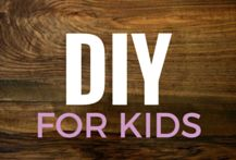 DIY Projects for kids - Simple projects for children that parents and their kids can do together. Here are 26 different kid-friendly DIY projects