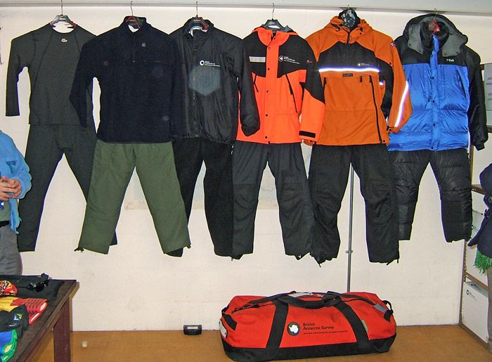 Extreme Cold Weather Clothing - Modern Antarctic Apparel fo the Coldest Conditions