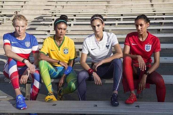 La panoplie Nike de la supportrice pour la Coupe du Monde!