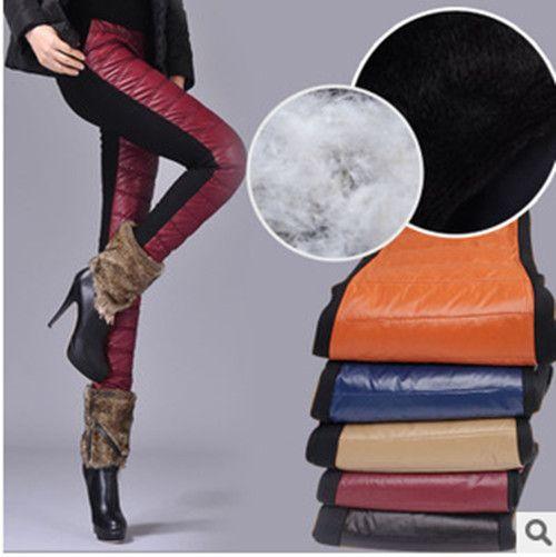 Купить товар8 цветов зима большой бархат утолщение вниз ватные брюки брюки приталенный тёплый брюки M XL XXL в категории Брюки и каприна AliExpress.             Добро пожаловать на восток OU вязание co., Ltd                  Востоке OU вязание компани
