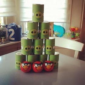 Angry Birds kinderfeestje