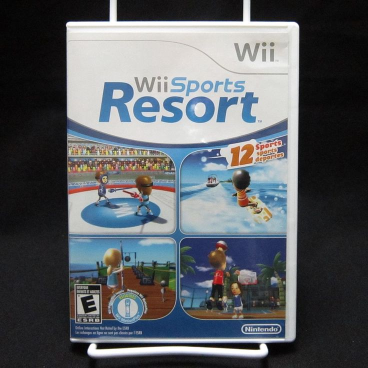 Wii Sports Resort Nintendo Wii 2009 Complete & Tested