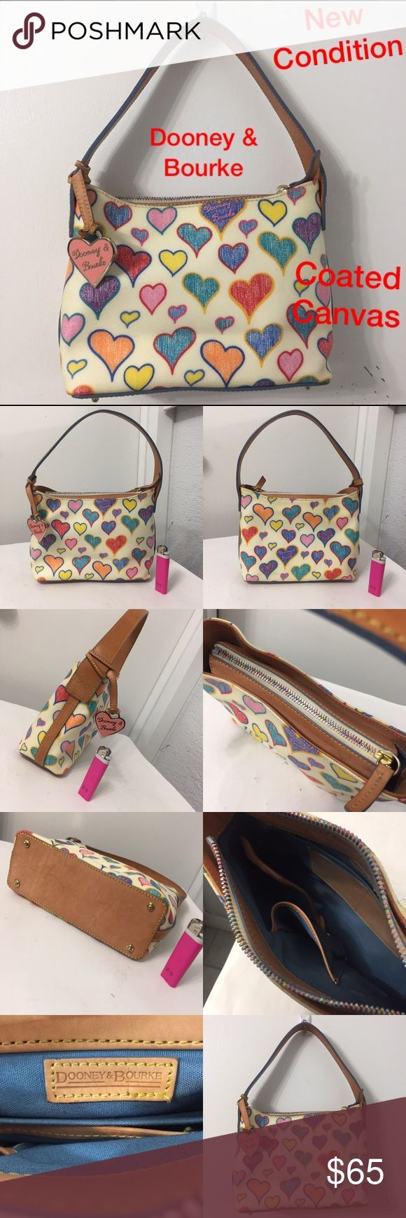 Dooney & Bourke coated canvas handbag Mint Condition. See photos Dooney & Bourke Bags Totes