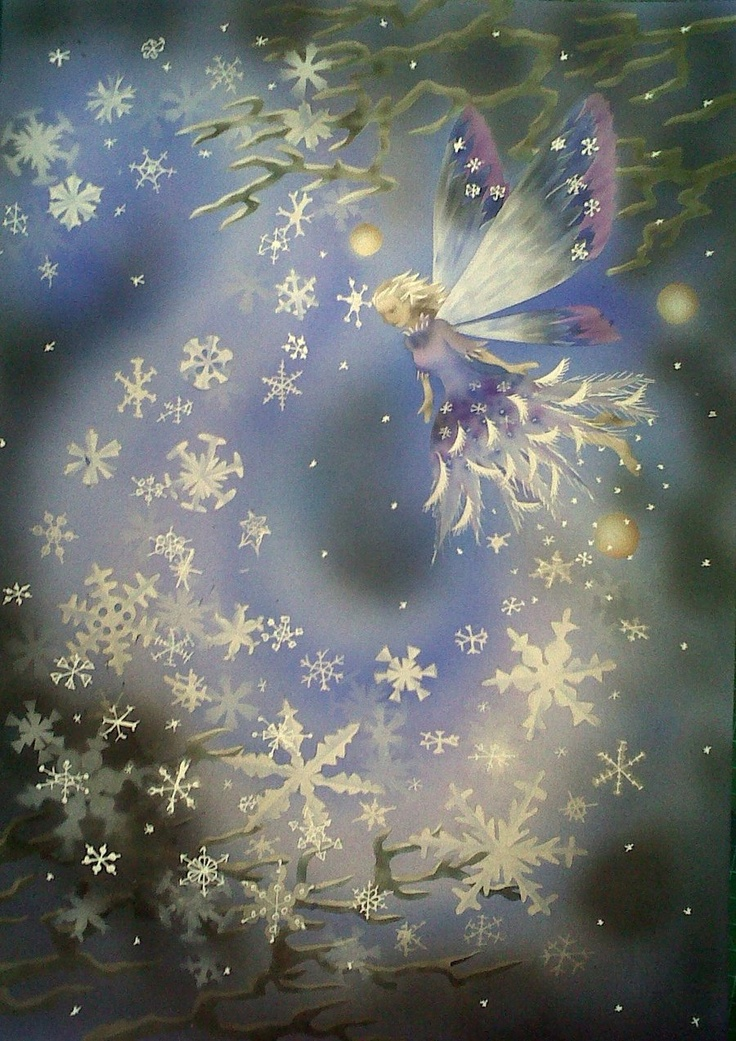 snow fairy by gillyfrog.deviantart.com