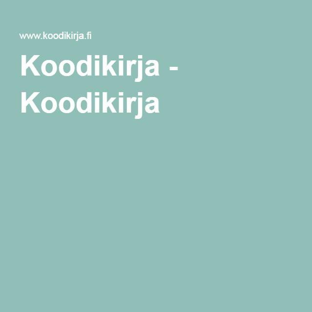Koodikirja - Koodikirja