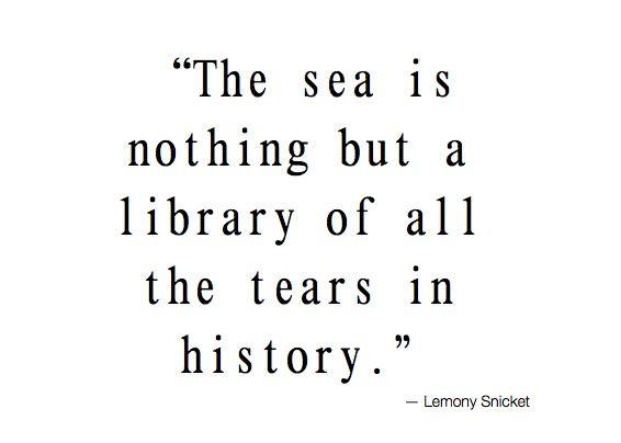 Lemony Snicket...touching...