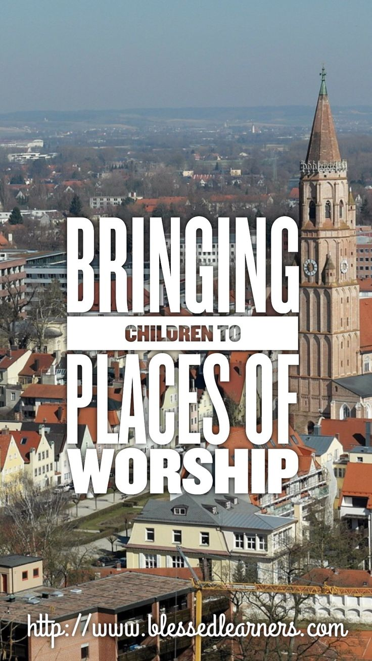 Bringing children to the place of worship is not always an easy work for parents. Here are some tips to get them to the place of worship more peacefully.