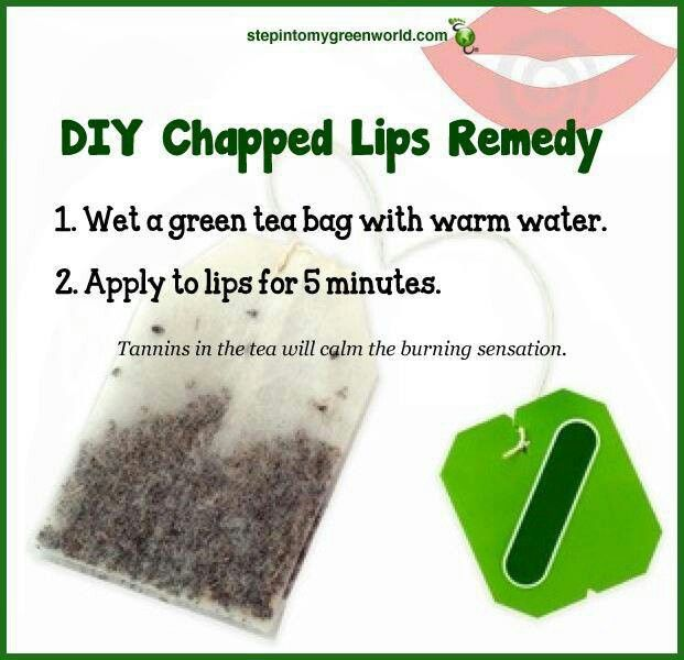 DIY chapped lips remedy because mine are already dry!