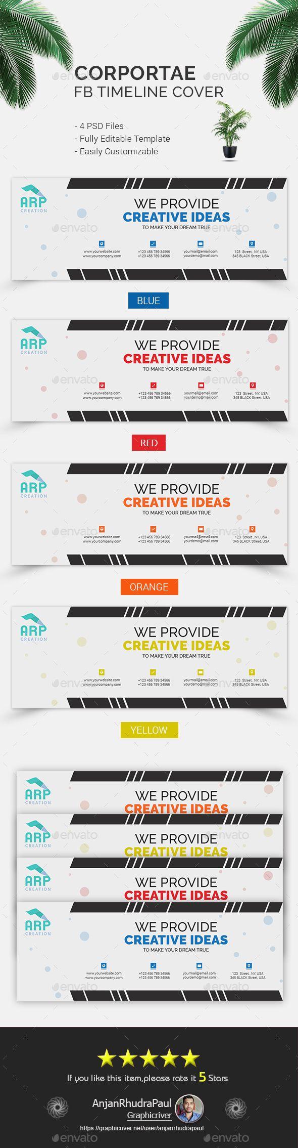 #Corporate FB Timeline Cover - Facebook Timeline Covers #Social #Media