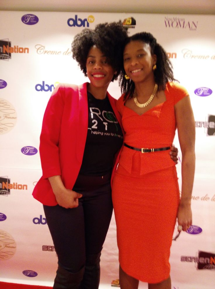 With Sal of Root2Tip at Creme de la Femme http://store.afrodeity.co.uk