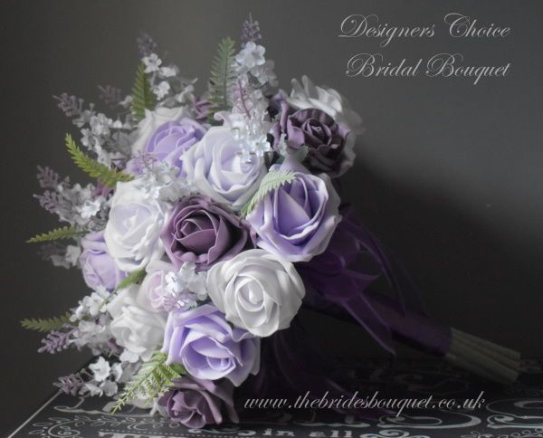 Pin By The Brides Bouquet Uk On Purple Theme Wedding In 2020 With Images Artificial Flowers Wedding Wedding Flowers Bridal Flowers