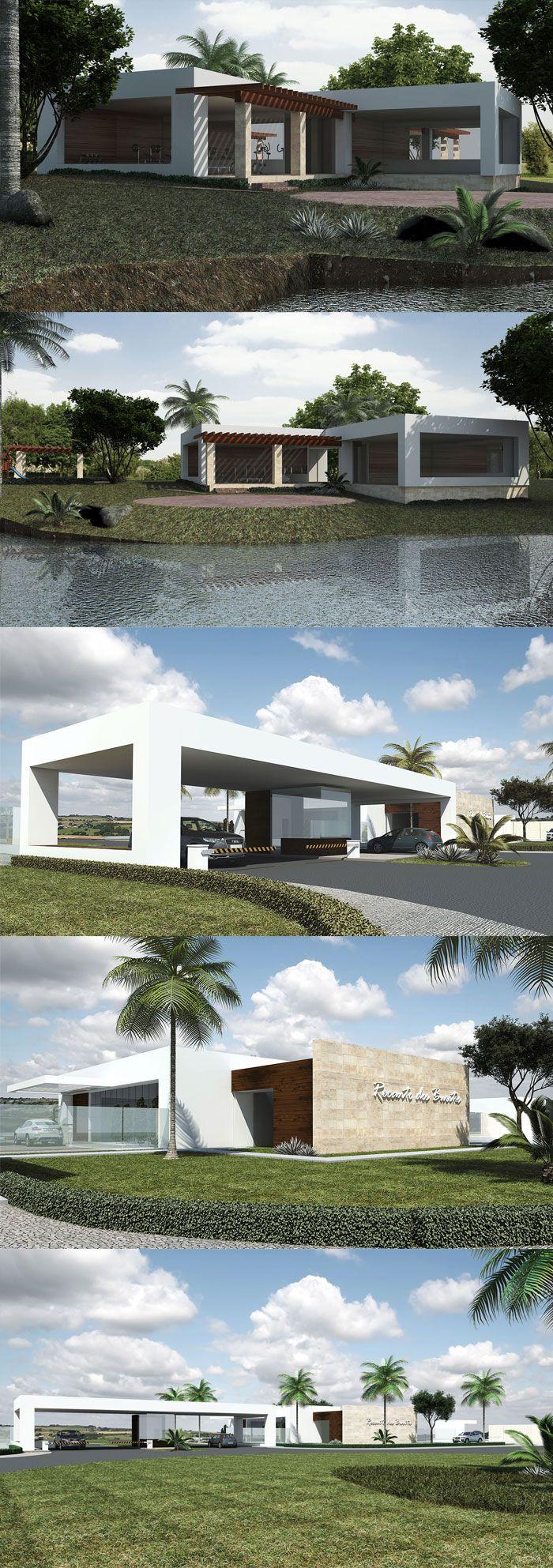 Projeto condominio horizontal.