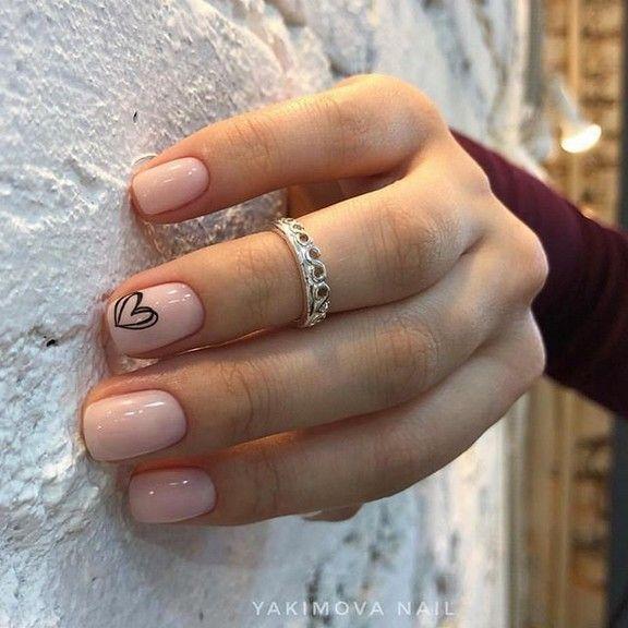 120+ süße Nail Art Designs für kurze Nägel 2019 3 ~ telorecipe212.com