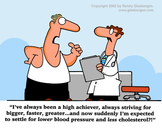 lower cholesterol joke cartoon
