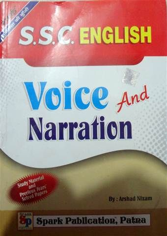 Book for SSC English Voice & Narration By Spark Publications. @mybookistaan.com