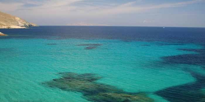Vagia Beach in Serifos Island, Greece