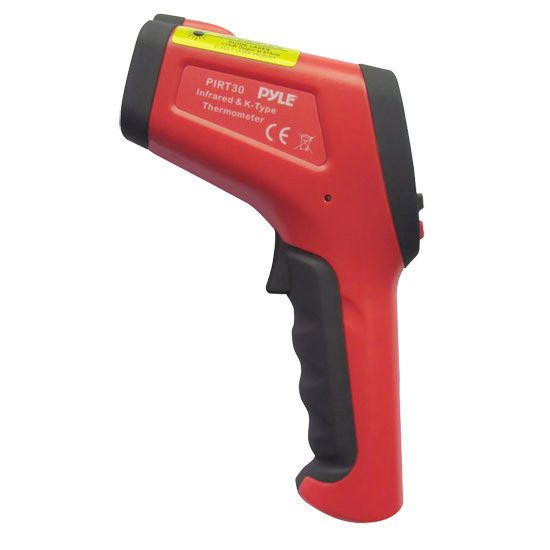 High Temperature Infrared Thermometer with Type K Input