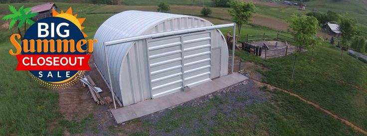 Steel Prefab Sheds for your Storage Needs - SteelMaster Buildings