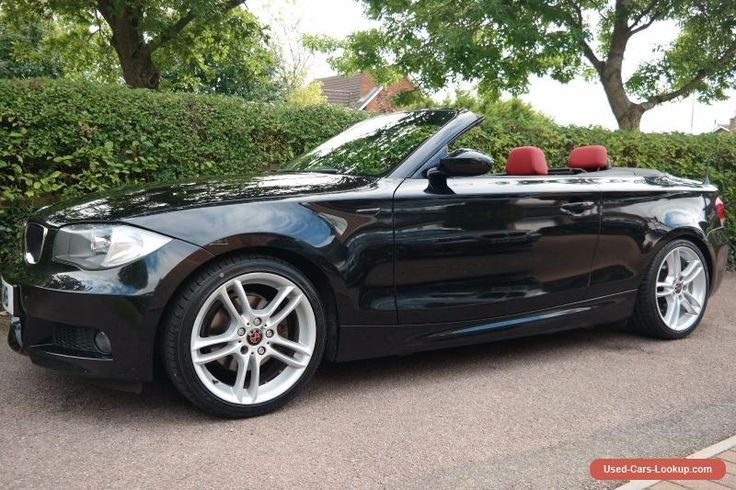 BMW 1 Series 2.0 120i M Sport  Convertible #bmw #1series #forsale #unitedkingdom