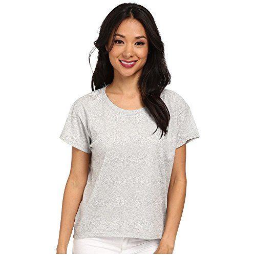(オルタナティヴ) Alternative レディース トップス Tシャツ Modal Crew Neck T-Shirt 並行輸入品  新品【取り寄せ商品のため、お届けまでに2週間前後かかります。】 表示サイズ表はすべて【参考サイズ】です。ご不明点はお問合せ下さい。 カラー:Heather Grey