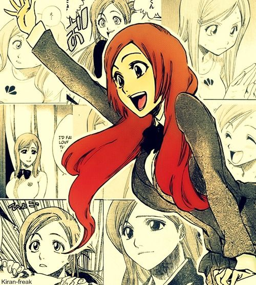 Orihime Inoue, the most normal character in the entire anime.