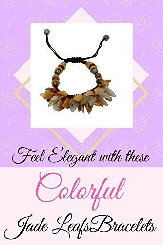 Amazon.com: 80 Fall Foliage Leafs Jade Bracelet: Jewelry