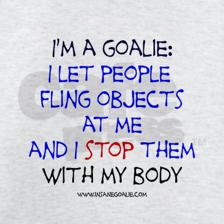 Goalie Declaration Light T-Shirt