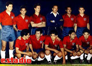 EQUIPOS DE FÚTBOL: SELECCIÓN DE CHILE Campeonato Sudamericano 1956