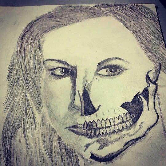 Skull lady finished!!