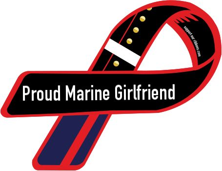proud marine girlfriend!